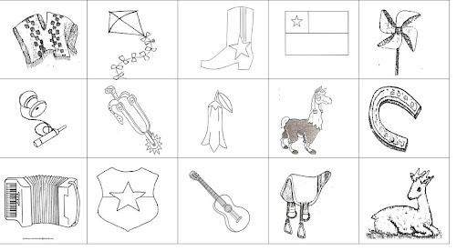 Dibujo De Chilena Para Colorear: Chile, Dibujos Fiestas Patrias Colorear