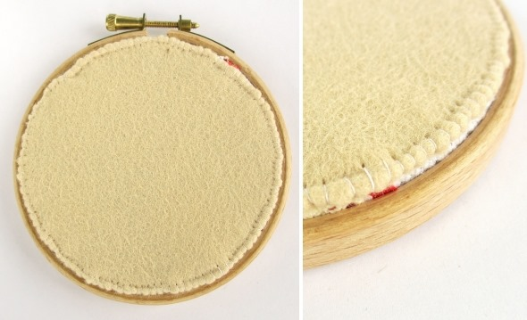 2014 May 7 Mollie Makes rose xstitch hoop sewing handmade craft 3