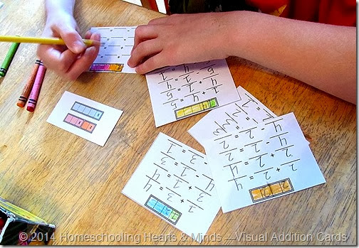 Flash Cards for Highly Visual Kids at Homeschooling Hearts & Minds