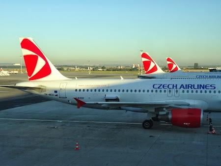 Avioane CSA pe aeroportul din Praga
