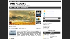 Bamz magazine blogger template 225x128