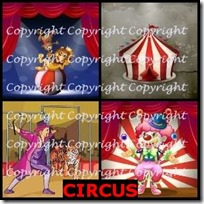 CIRCUS- 4 Pics 1 Word Answers 3 Letters