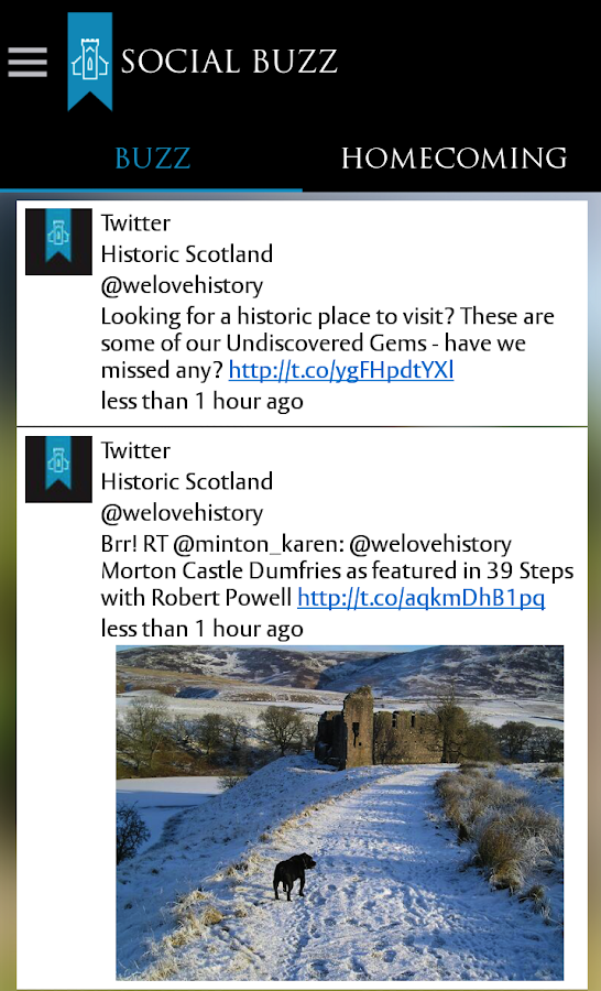 Historic Scotland- screenshot