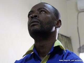 Firmin Yangambi. Radio Okapi/ Ph. John Bompengo