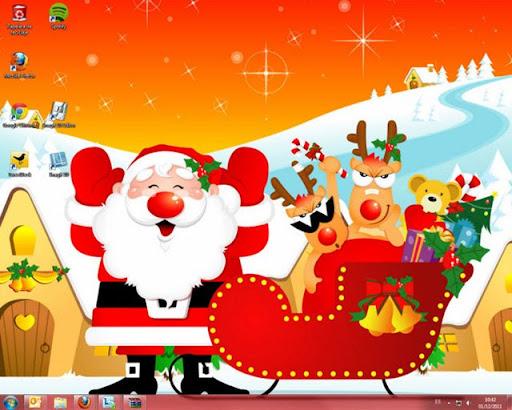 Tema de navidad para Windows 7