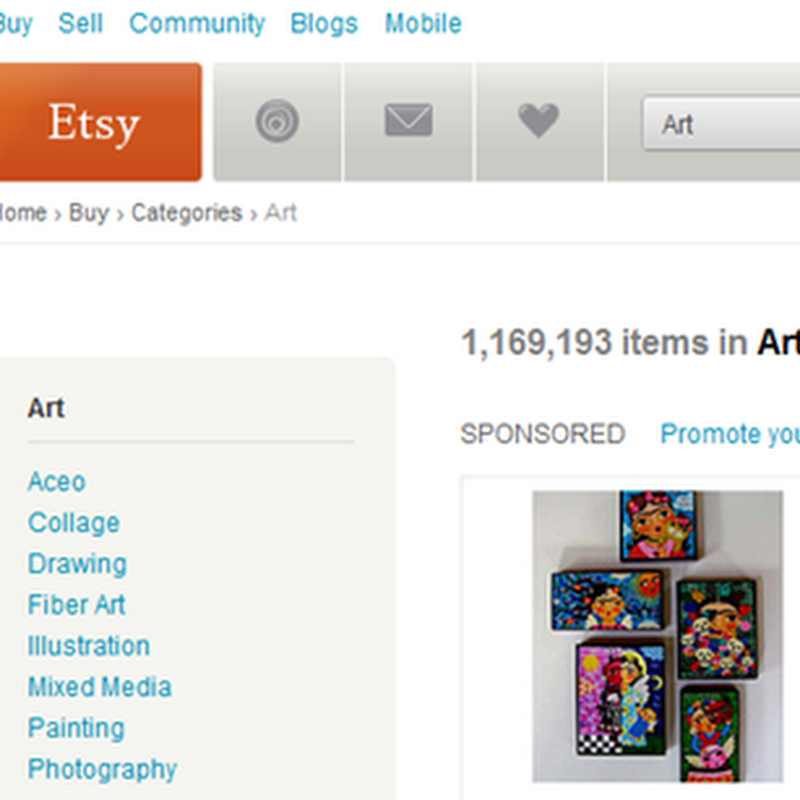 Etsy Art - How to Start an Etsy Shop