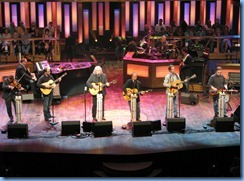 9205 Nashville, Tennessee - Grand Ole Opry radio show - Ricky Skaggs and his band Kentucky Thunder