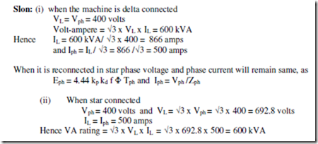 Synchronous Machines Notes part1 | electric equipment