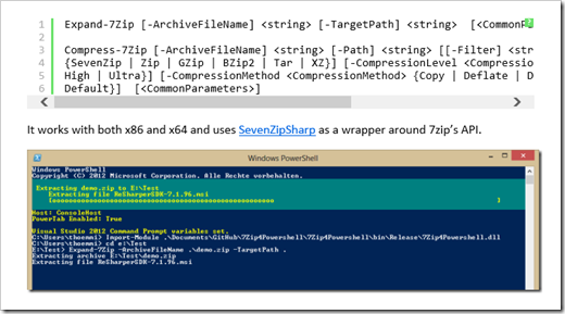 Powering your Zipping with PowerShell and 7-Zip (and