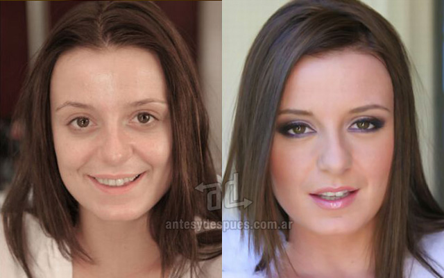 Before and after make-up artists 14