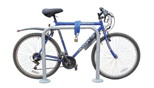 Estacionamento para bicicletas do tipo Sheffield