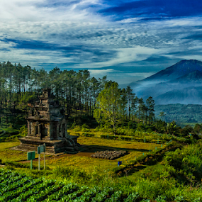 Gedong Songo by Erry Subhan - Landscapes Mountains & Hills ( history, ambarawa, candi, indonesia, semarang, asia, stone, java, neolithicum, gedong songo, granite )