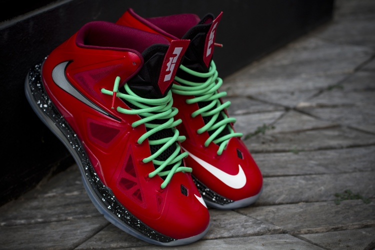 official photos d336a 9eb31 ... Nike LeBron X iD Inspired by Christmas 88217s Build by gentry187