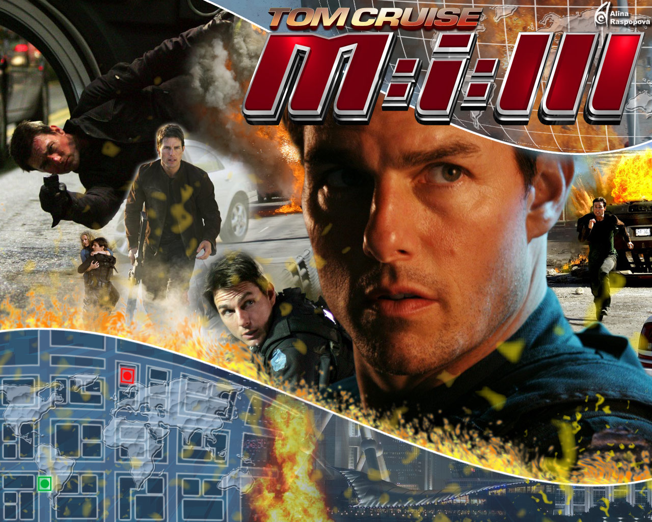 My Movie Review imdb copyright: Mission : Impossible III (2006)
