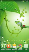 Screenshot of Green Live Wallpaper