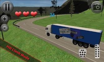 Screenshot of Euro Truck Parking