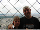 auf dem Eiffelturm