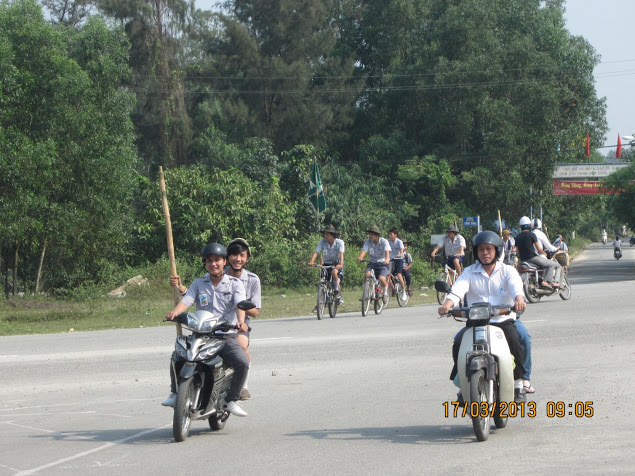 TraiDungThuaThioem2013 06 BHD GĐPT Thừa Thiên tổ chức Trại Dũng năm 2013