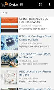 WebReader News RSS Reader- screenshot thumbnail