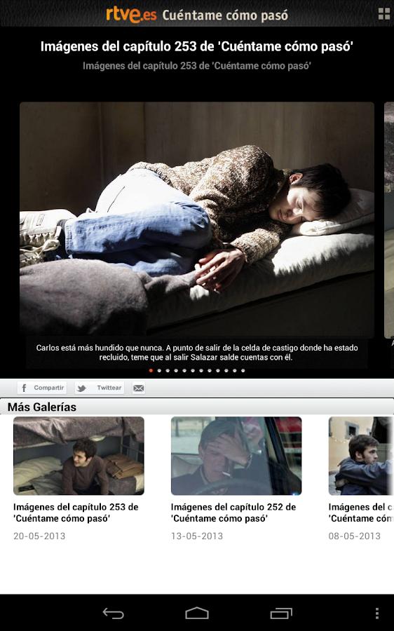 Cuéntame Cómo Pasó en RTVE.es - screenshot