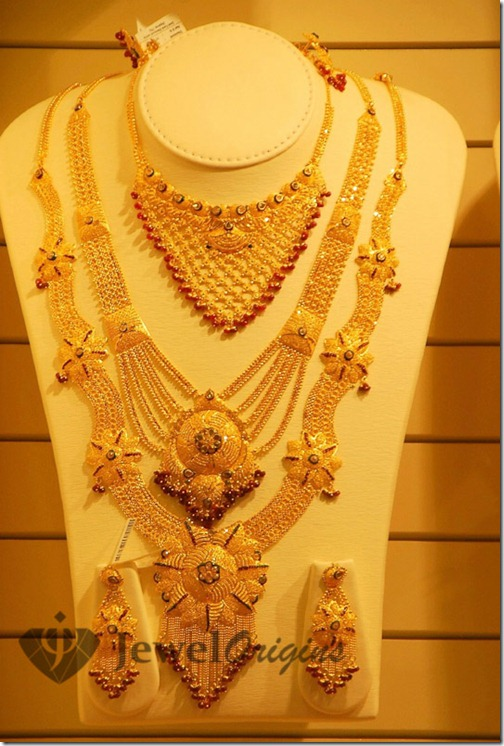 latest gold haram designs