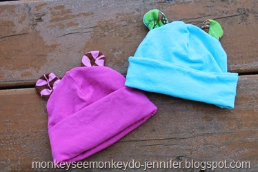 baby hats with ears