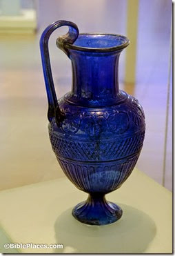 Ennion's blue glass jug, 1st c AD, tb031114560