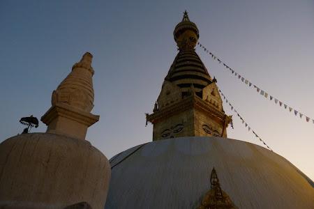 Obiective turistice Nepal: rasarit de soare la Monkey Temple