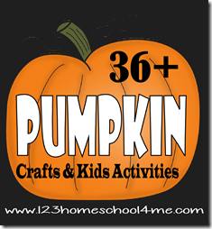 36 Pumpking Crafts and Kids Activities for Halloween