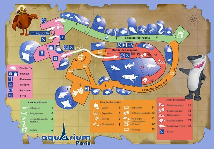 plan-de-visite-aquarium-de-paris
