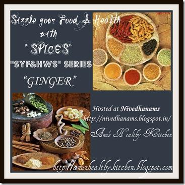 SYF&HWS - Ginger