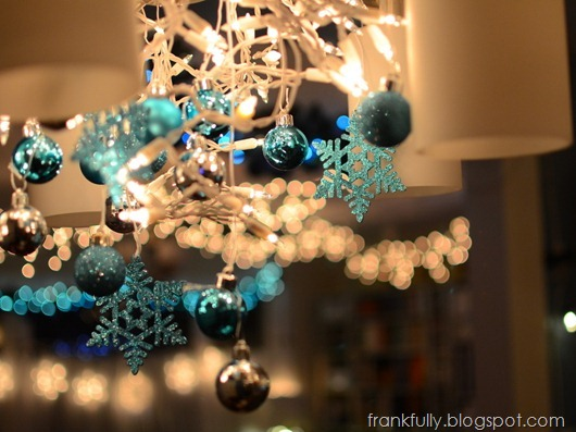 ornaments and lights
