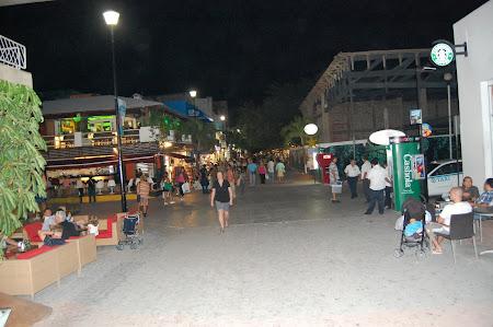 Vacanta Mexic: Promenada Playa del Carmen