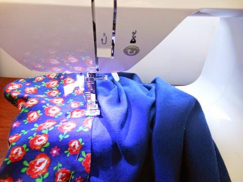 DIY customizar blusinha com tecido estampado