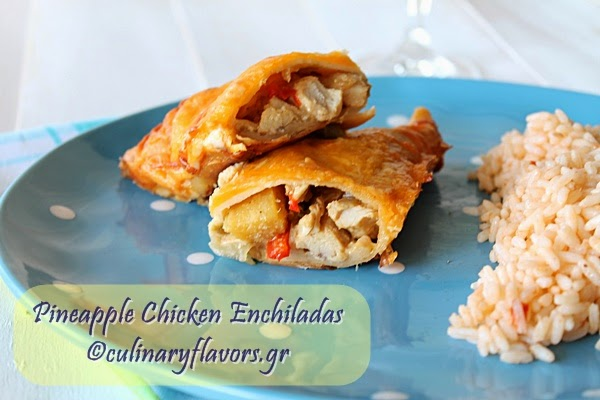 Pineapple Chicken Enchiladas.JPG