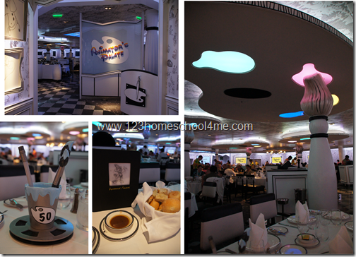 Animator's Palate is our favorite Disney Cruise Line Restaurant!
