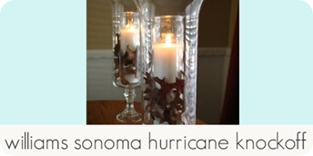 williams sonoma hurricane knockoff