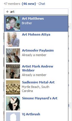 Introducing New Facebook Promote Your Art Group | Artpromotivate