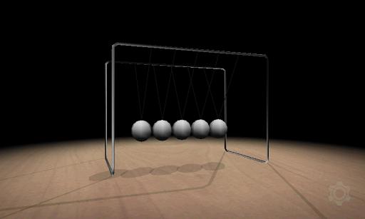 3Dニュートンのゆりかご
