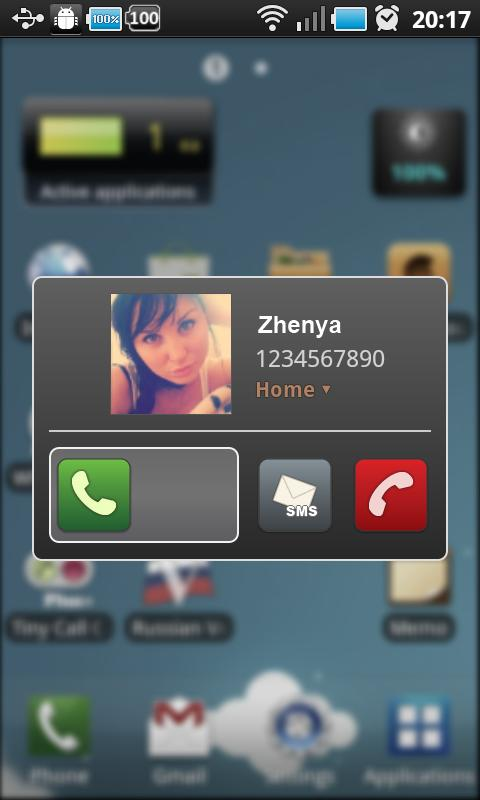 Tiny Call Confirm- screenshot