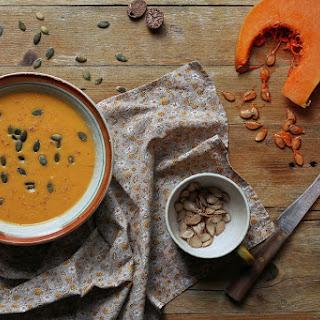 Roasted Pumpkin Soup.