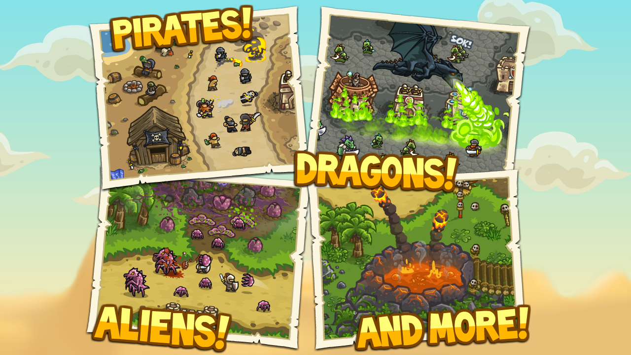 Kingdom Rush Frontiers screenshot #10