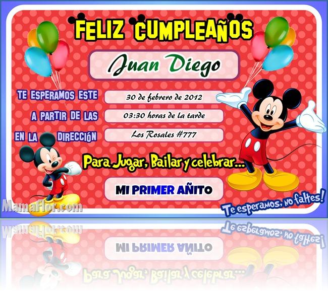 tarjeta de mickey mouse2