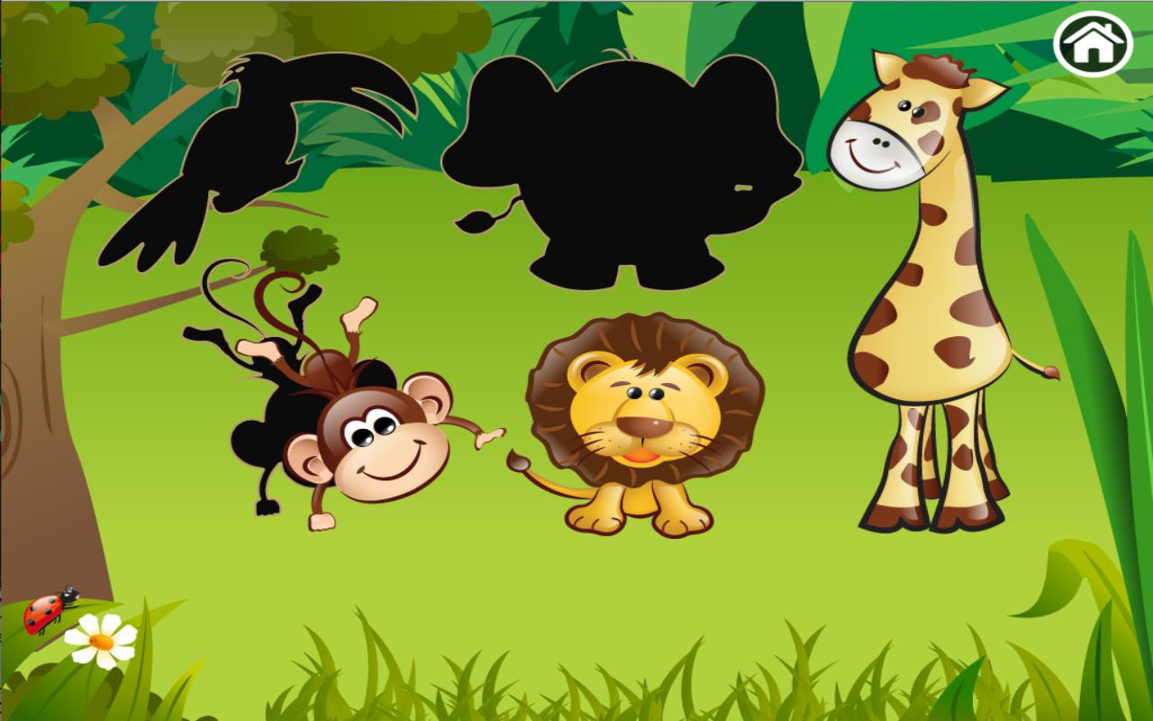 Animal Zoo Puzzle - screenshot