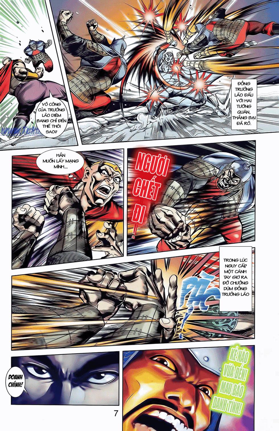 Tần Vương Doanh Chính chapter 9 trang 10