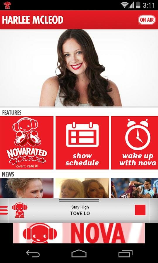Nova FM - screenshot