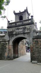 Hanói - Antigo portão da cidade
