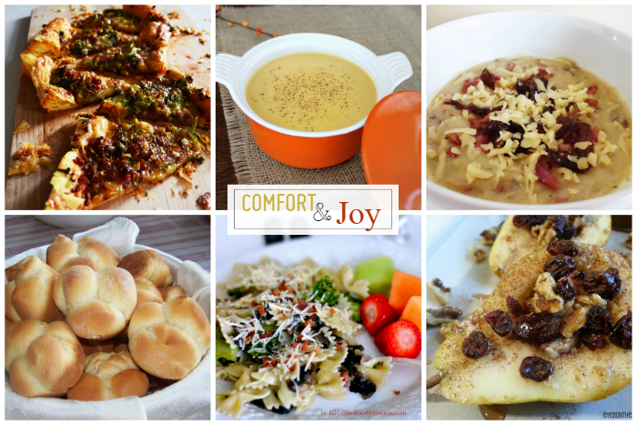 Comfort & Joy: Featured comfort foods that brings joy
