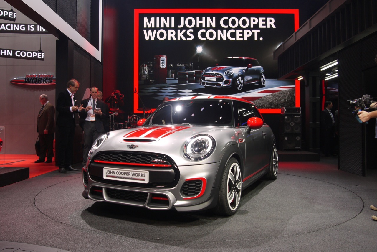 2014 Mini John Cooper Works Concept Detroit Te Sahne