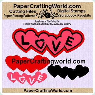 love in heart papered-350b